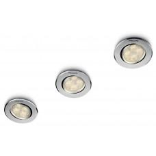 Philips SmartSpot Albireo Inbouwspot Aluminium (3 spots)
