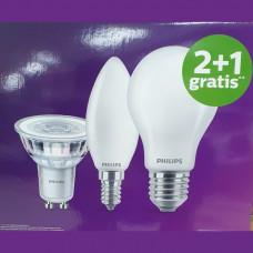 Philips Multipack verpakking 2+1 gratis