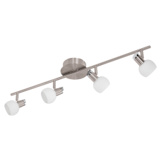 Eglo spotbalk incusief LED verlichting 4x3,3 Watt
